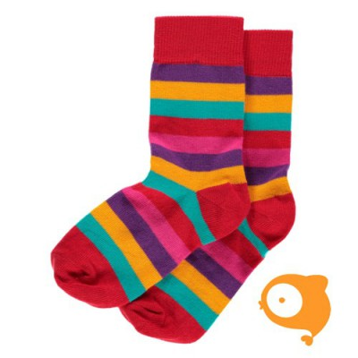 Maxomorra - Socks red mix