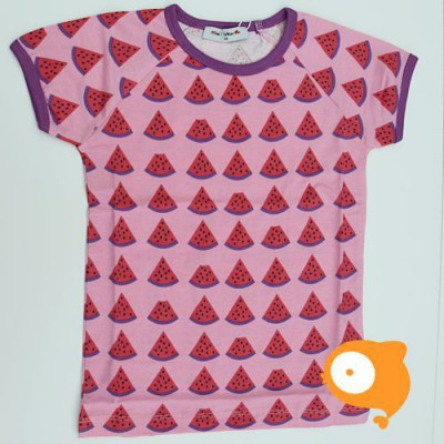 Mini Cirkus - T-shirt SS watermeloen