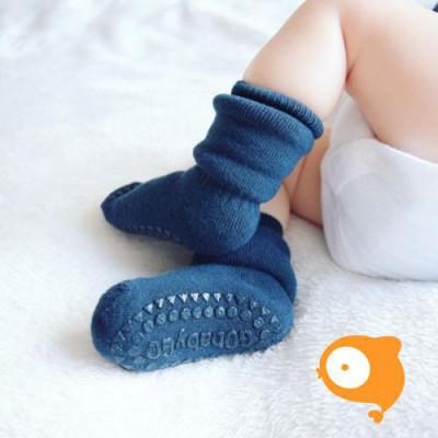 GoBabyGo - Bamboo socks dark blue