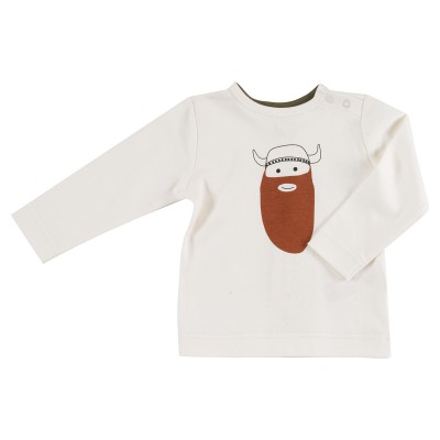 Pigeon - long sleeve viking on white