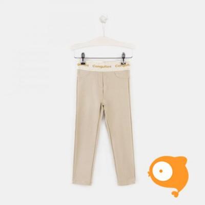 Conguitos - Broek elastisch stof beige