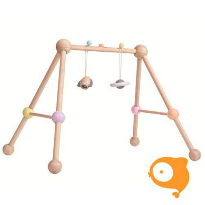Plantoys - Baby Gym pastel