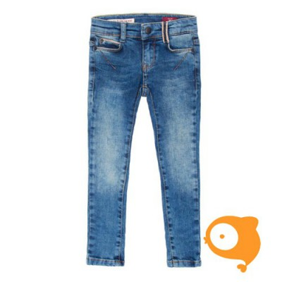 BOOF - Jeans impulse middle blue skinny fit power stretch