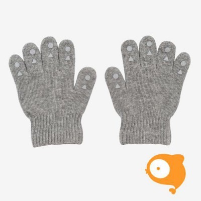 GoBabyGo - Handschoenen grip gloves grey melange