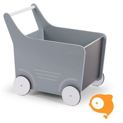 Childhome - Houten loopwagen mint