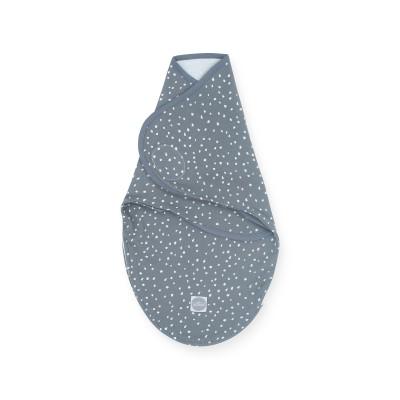 Jollein - Slaapzak wrapper 0-3 maanden Spickle grey
