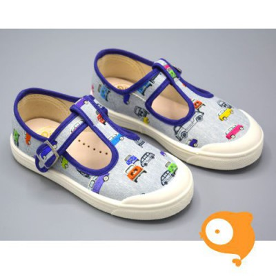 Pépé Children Shoes - Tessuto multicar open