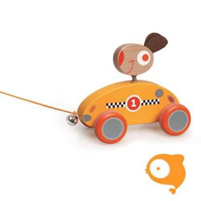 Scratch - Preschool: trekfiguurtje konijn Louis