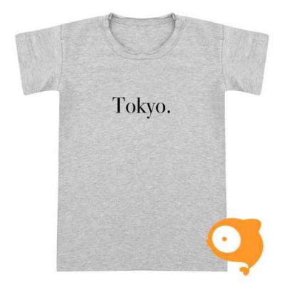 Little Indians - T-shirt Tokyo grijs