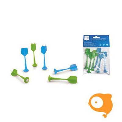 Scratch - Set darts blauw/groen