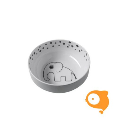 Done By Deer - Yummy Bowl Happy Dots grey