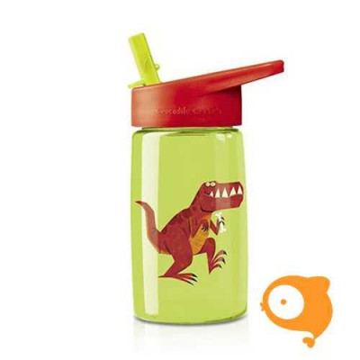Crocodile Creek - Drinkfles met rietje T-rex