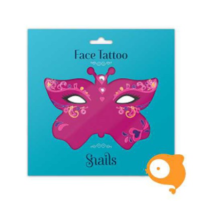 Snails - Face Tattoo - Queen of Hearts