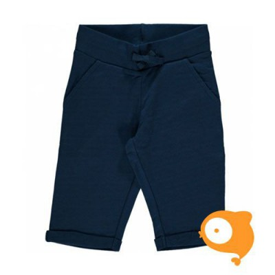 Maxomorra - Sweatshorts knee dark blue