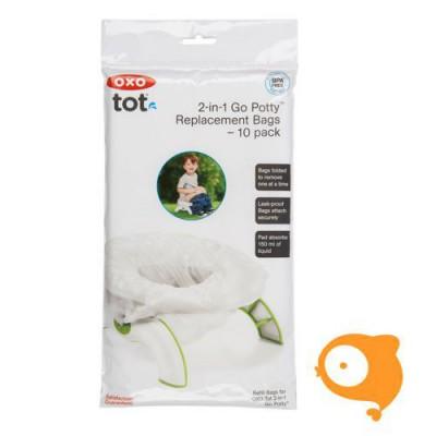 OXO tot - Wegwerpzakjes voor het 2-in-1 potje voor onderweg