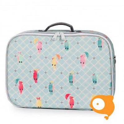 Jeune Premier Mini - Koffertje Suitcase - Posh parrots