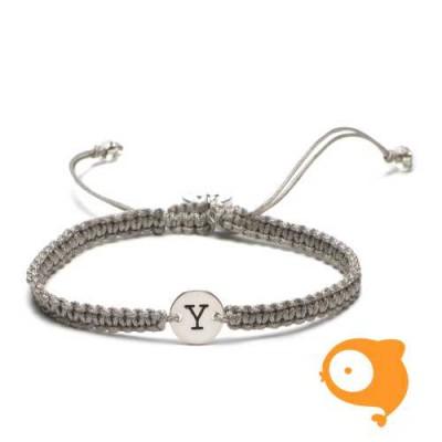 Proud Mama - Armband met initiaal Y