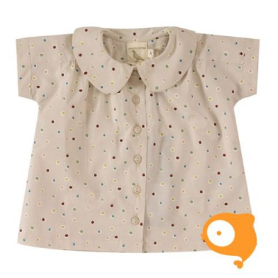 Pigeon - Blouse Spots Taupe