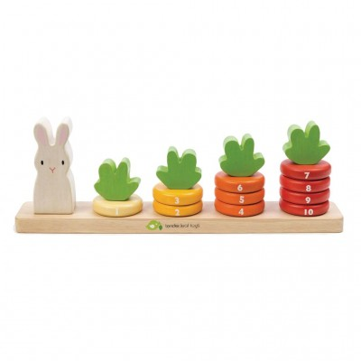 Tender leaf toys - Wortelen tellen