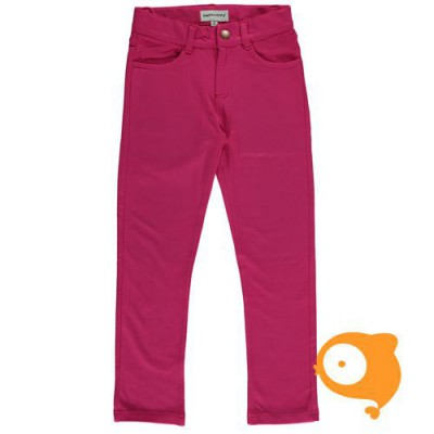 Maxomorra - Pants twill cerise