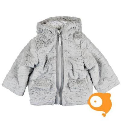 Boboli - Jas fleece grijs