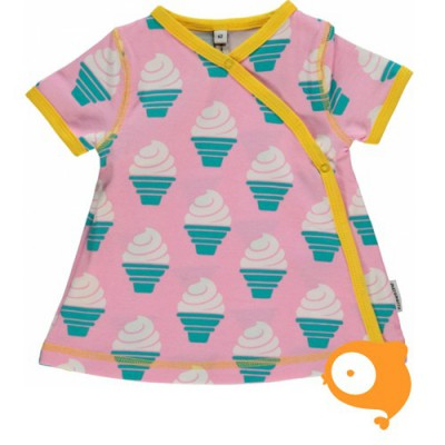 Maxomorra - Dress wrap SS icecream