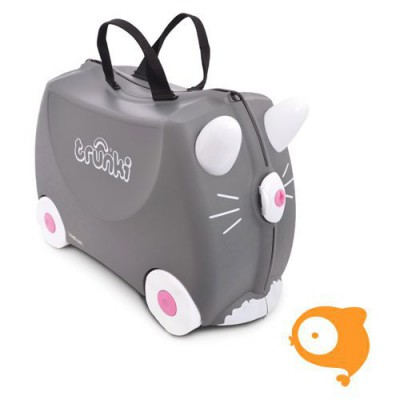 Trunki - Kinderkoffer ride-on kat