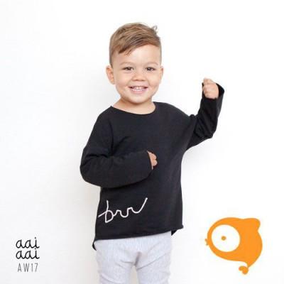 AAI AAI - Sweater BRR zwart