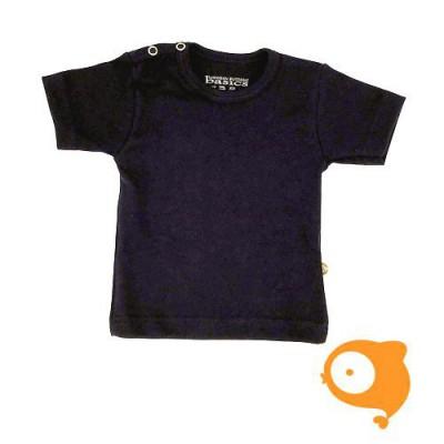 Wooden Buttons - T-shirt marineblauw