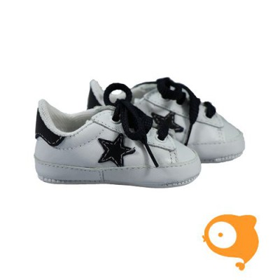 Fior di Coccole - Sneaker wit met ster
