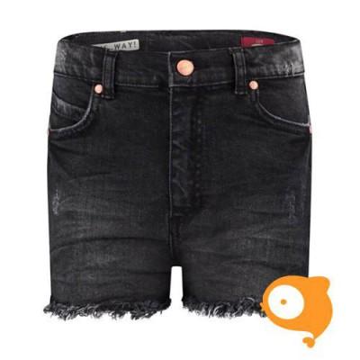 BOOF - Lux girls shorts grey/black