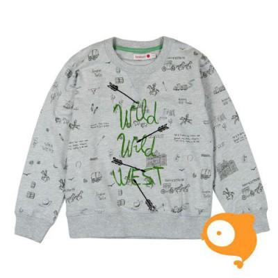 Boboli - Sweater grijs western