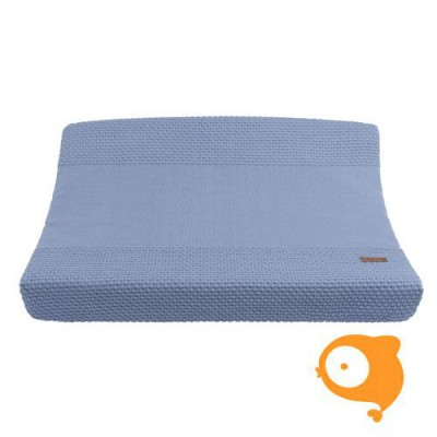 Baby's Only - Aankleedkussenhoes cloud indigo