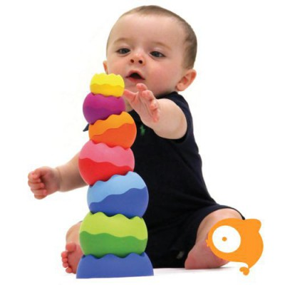 Fat Brain Toys - Tobbles neo stapeltoren
