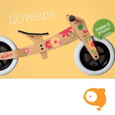 Wishbone - Stickers bloemen (voor Wishbone Bike original)