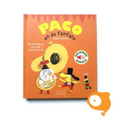 Clavis - Geluidenboekje 'Paco en de fanfare'