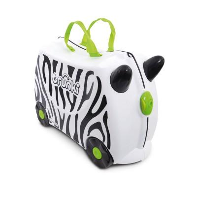 Trunki - Kinderkoffer ride-on zebra