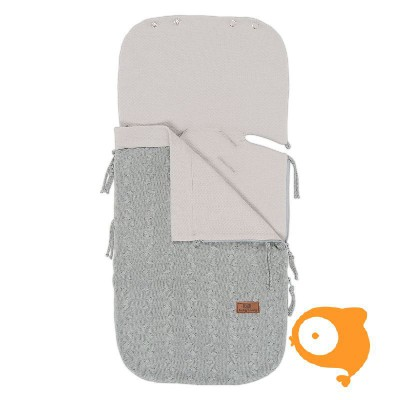 Baby's Only - Zomer voetenzak Maxi-Cosi 0+ cable grijs