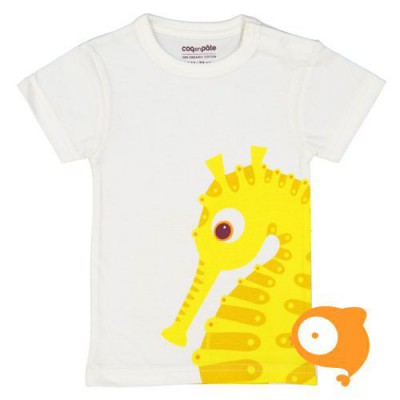 Coq en Pâte - T-shirt zeepaardje