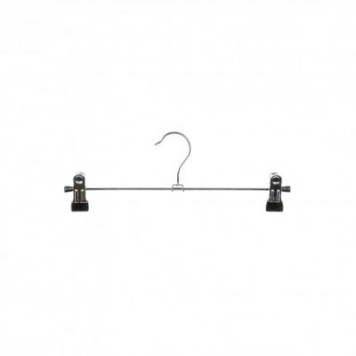 Metalen knijphangers met knijpers 20 cm - per 10 stuks