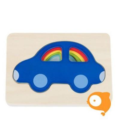 Goki - Puzzel auto's