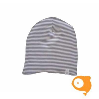 Bamboom - Hoodie grey stripes