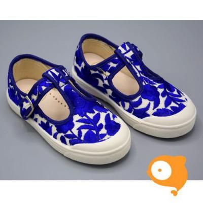 Pépé Children Shoes - Tessuto anemone open