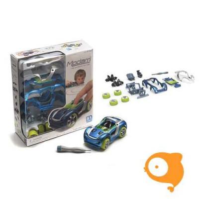 Modarri - Auto S1 Street car met 12 onderdelen en schroevendraaier