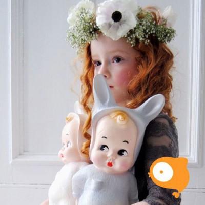 Lapin & Me - Grey baby lapin lamp