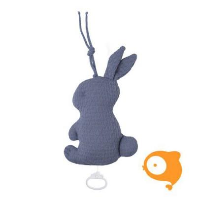 Baby's Only - Muziekdoos konijn cloud indigo