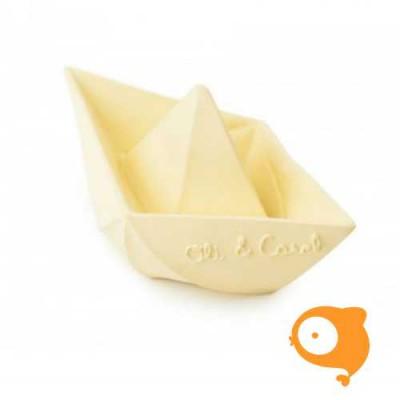 Oli & Carol - Bad- en bijtspeeltje bootje geel