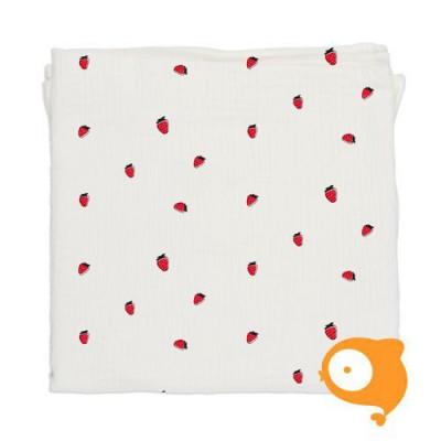Baby Bites - Hydrofiele doek aardbeien