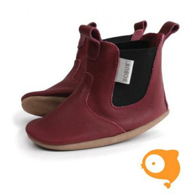 Bobux - Sof sole dark red mini jodphur Limited Edition