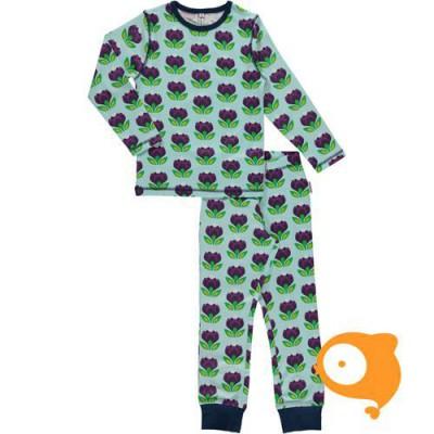 Maxomorra - Pyjama set LS crocus